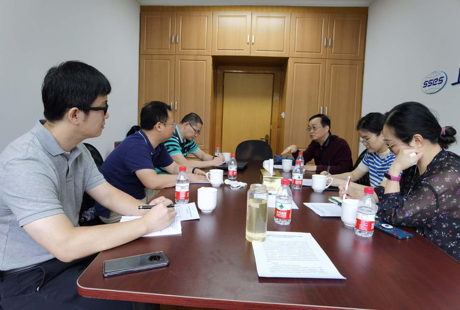上海市环境科学学会化学品污染物排放毒性鉴定与风险防控专业委员会筹备组第一次会议顺利召开